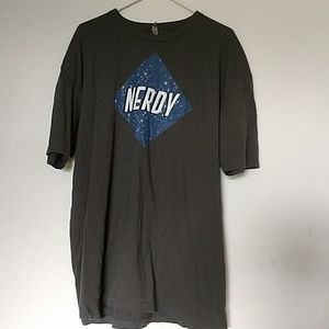 Nerdy T Shirt Represent John Barrowman